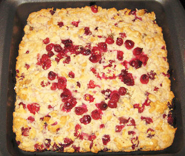 Gluten-Free Cranberry Cake