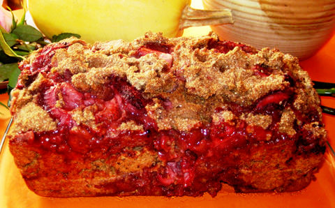 Strawberry Yogurt Rye Bread