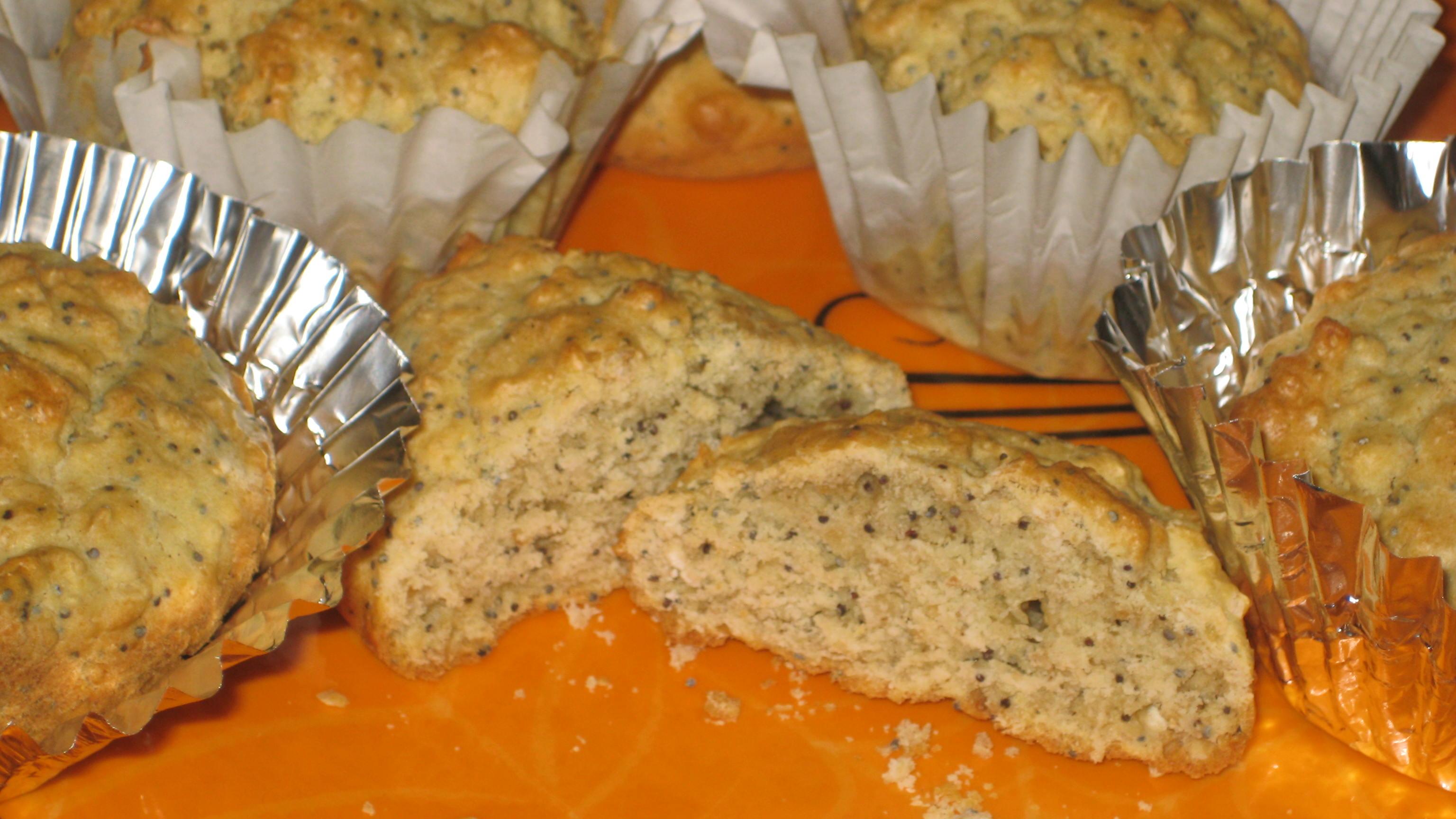 Gluten Free Poppyseed Biscotti