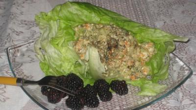 Cauliflower Medley Lettuce Wrap