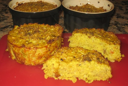 Baked Cauliflower Cakes, Healthy Never Tasted Soooo Good :P