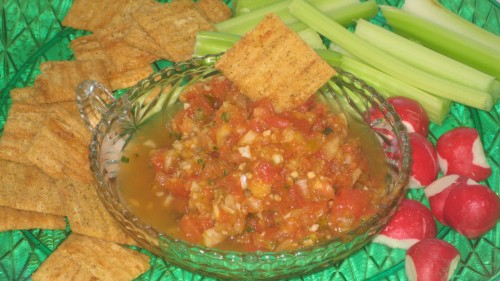 Spicy Hot Homemade Salsa