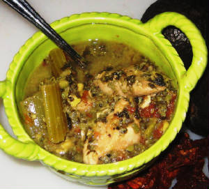 Crock-Pot Chicken Chinese Soup