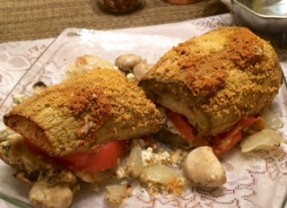 Roasted Eggplant Sub Sandwich Recipe
