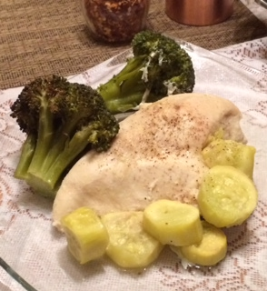 Easy Recipe … Baked Chicken With Veggies