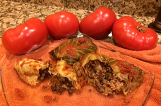 Turkey Stuffed Cabbage Rolls, Easy & Fast Recipe