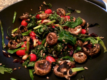 Spring Mix Vegetarian Stir-Fry