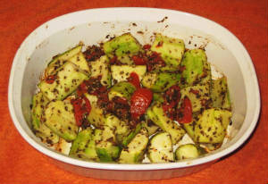 Oven Roasted Zucchini .. Eat Zucchini To Help You Fit Into That Bikini :)