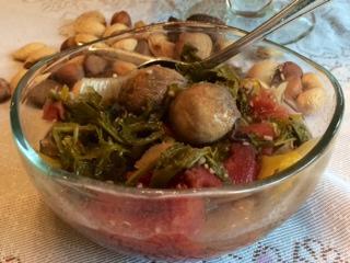 Detox Recipe, Arugula Mushroom Soup