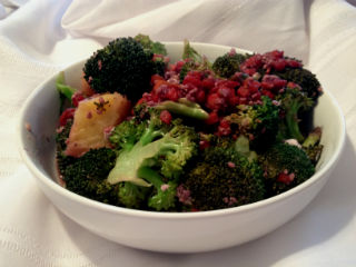Broccoli Sauteed In Red Wine, Low Fat!