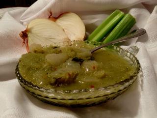 Celery Onion Soup, Easy Detox Recipe
