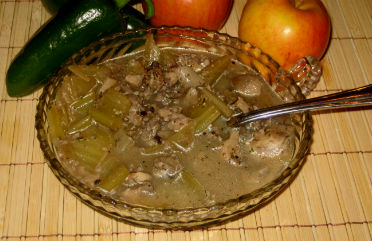 Healthy Low Fat Mushroom Soup