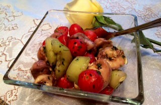 Cold Honey Summer Salad, Perfect For A Hot Sunny Day