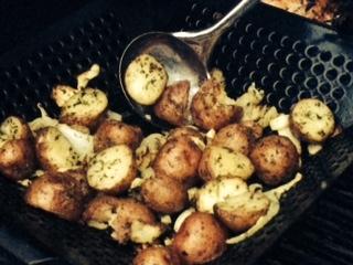 Don's Garden Fresh Grilled Skin Potatoes
