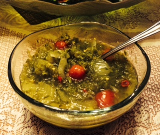 Low Sodium Green Pepper Soup