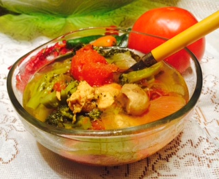Chicken Stew, A Low Sodium Low Fat Recipe