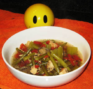 Low Fat Low Carb Chicken Vegetable Soup