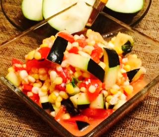 Zucchini Bikini Salad