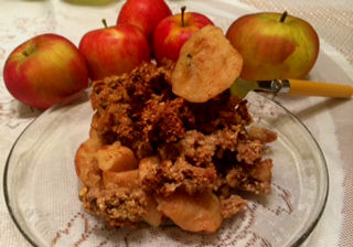 Apple Crisp Recipe, Without Butter :)
