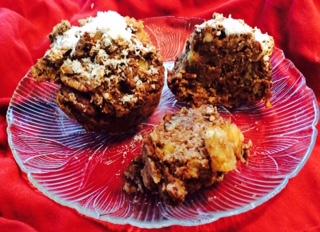 Pineapple Pecan Oat Muffins, Gluten-Free :P