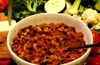 Spicy Salsa Bean Dip, A Delicious Cavs Appetizer