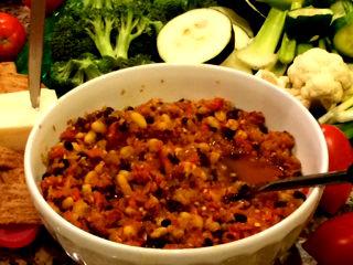 Spicy Salsa Bean Dip