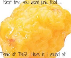 Here's An Image To Help You Not Eat Junk Today!!