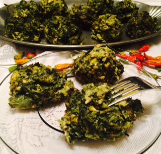 Spinach – Kale Veggie Cakes