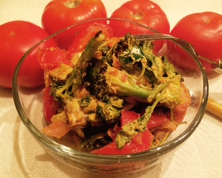 Chicken Arugula Spinach Casserole