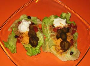 TVP Meatless Vegetarian Tacos