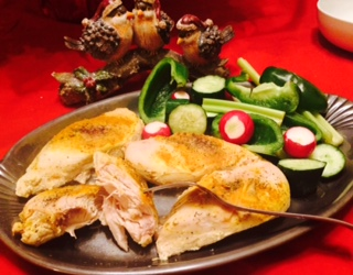 Baked Season Chicken … Perfect Lunch Time Fare!!