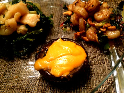 Don's Cheesy Portobello Mushrooms Recipe
