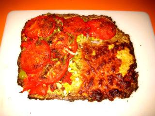 Zesty Gluten-Free Pizza With Zucchini Crust