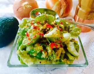 Chunky Tomatillo Avocado Salsa