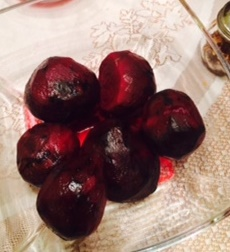 Beets, Slow Roasted In Red Wine & Olive Oil