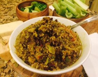A Delicious Vegetarian Dip, Gluten-Free :P