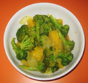 Pineapple Broccoli Wok Healthy Recipe