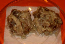 Turkey Meatballs Smothered In Mushroom Sauce