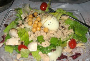 FISH FRIDAY… Tossed Tuna Salad