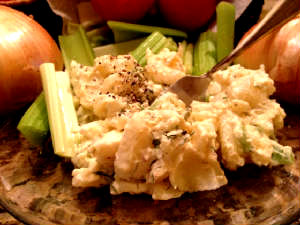 Skinny Potato Salad