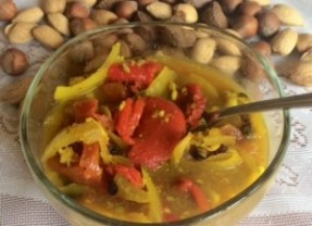 Roasted Red & Hot Banana Peppers Soup, A Delicious DETOX RECIPE