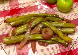 Slow Cooked Jersey Giant Asparagus