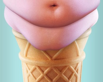 This Image Definitely Makes Me Not Want To Eat Ice Cream