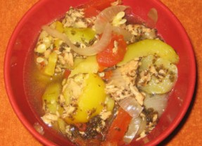 Tuna Vegetable Slow Cooker Casserole