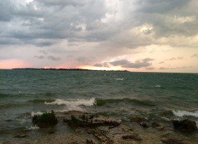 Storm Rolling In – Lake Erie Islands, View From My Front Yard