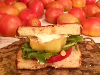 Tomato & Zucchini Sandwiches