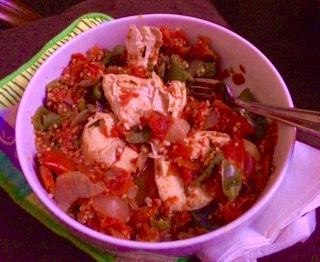 Chicken & Fresh Tomato Stew