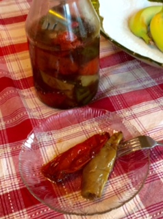 Slow Cooked Hot Hungarian Wax Peppers