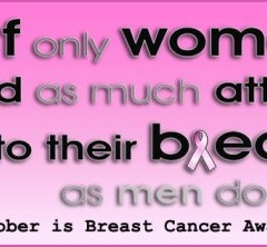 October, Breast Cancer Awareness Month