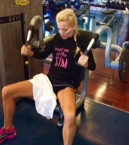 BEST TRICEP WORKOUT..I fell in love with this machine on vacation! CLICK HERE, I want one in my home!